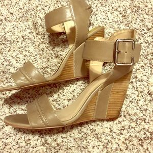 Wedge sandals. Nine West